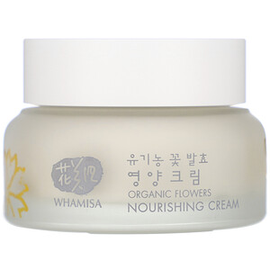Whamisa, Organic Flowers, Nourishing Cream, 1.7 fl oz (51 ml) отзывы