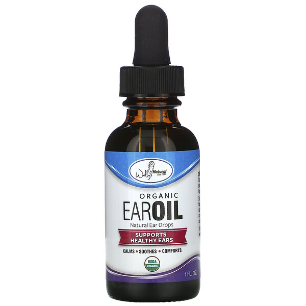 Organic Ear Oil, 1 fl oz (30 ml)