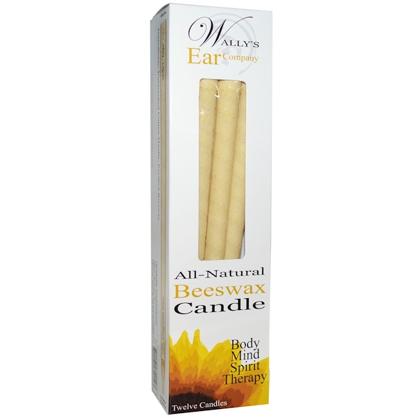 Ear Candles, Luxury Collection, Unscented, 12 Candles