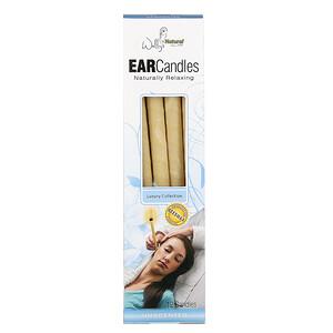 Валлис Натрула Продуктс, Beeswax Ear Candles, Luxury Collection, Unscented, 12 Candles отзывы покупателей
