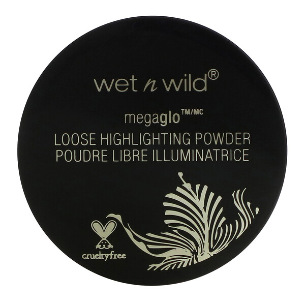 Wet n Wild, MegaGlo Loose Highlighting Powder, I'm So Lit, 0.57 g