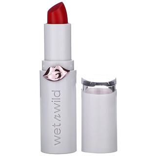 Wet n Wild, MegaLast High-Shine Brillance Lip Color, Crimson Crime, 0.11 oz (3.3 g)