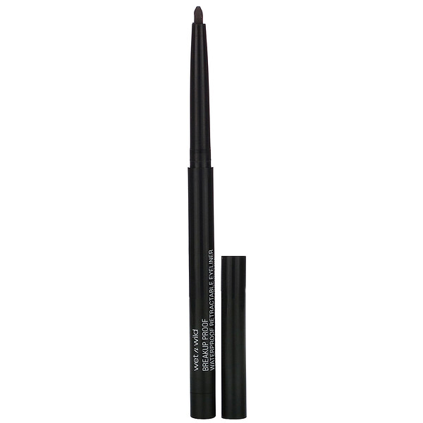 Breakup Proof Retractable Gel Eyeliner, Black, 0.008 oz (0.23 g)
