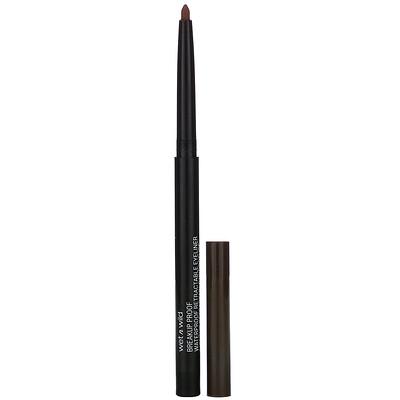 Купить Wet n Wild Breakup Proof Retractable Gel Eyeliner, Black Brown, 0.008 oz (0.23 g)