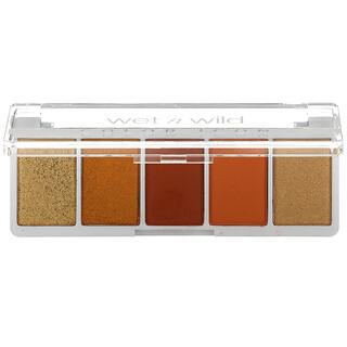 Wet n Wild, Color Icon, 5-Pan Shadow Palette, Sundaze, 0.21 oz (6 g)