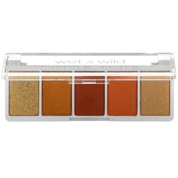 Color Icon, 5-Pan Shadow Palette, Sundaze, 0.21 oz (6 g)