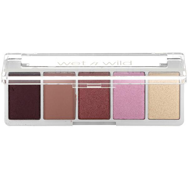 Color Icon, 5-Pan Shadow Palette, Petalette, 0.21 oz (6 g)