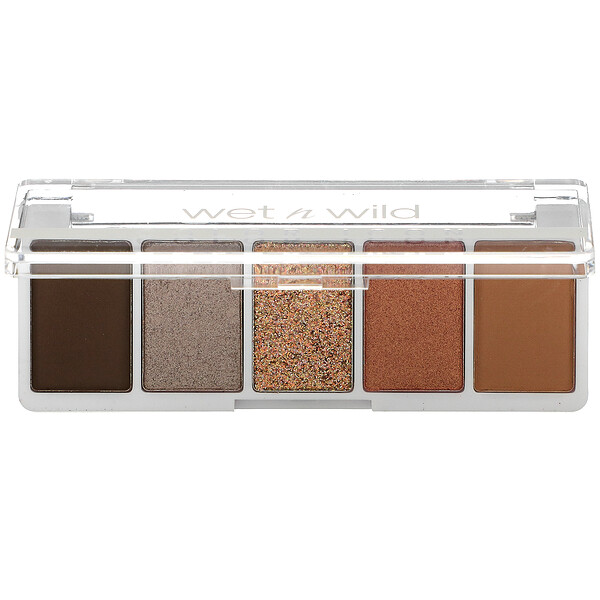 Wet n Wild, Color Icon, 5-Pan Shadow Palette, Camo-flaunt, 0.21 oz (6 g)