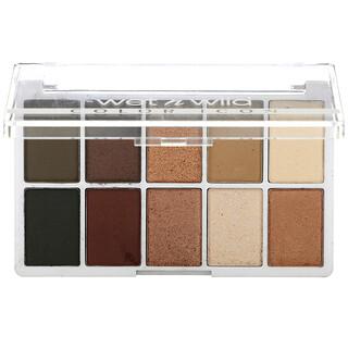 Wet n Wild, Color Icon, 10-Pan Shadow Palette, Nude Awakening, 0.42 oz (12 g)