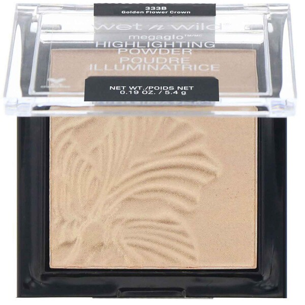 Wet n Wild, MegaGlo Highlighting Powder, Golden Flower Crown, 0.19 oz (5.4 g)