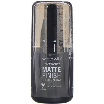 Купить Wet n Wild PhotoFocus, Matte Appeal, спрей для фиксации макияжа с матирующим эффектом, 45мл