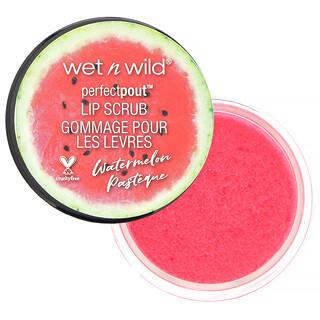 Wet n Wild, Perfect Pout Lip Scrub, Watermelon, 0.35 oz (10 g)