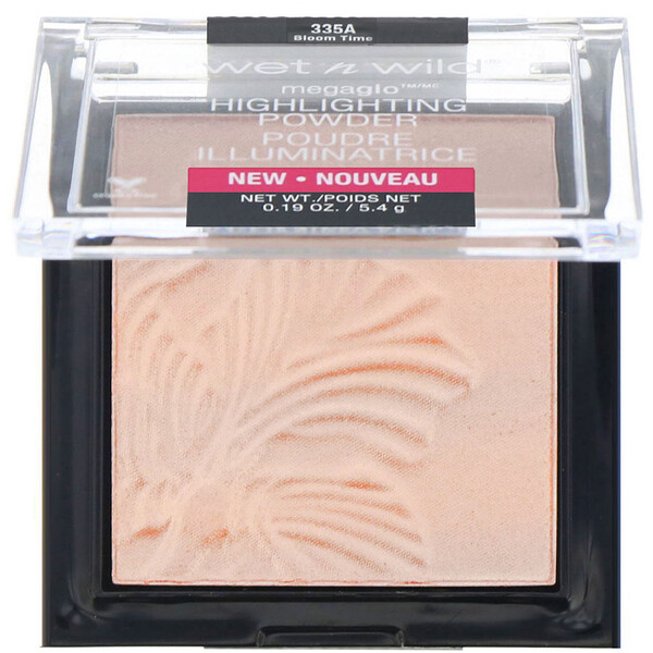 Wet n Wild, MegaGlo Highlighting Powder, Bloom Time, 0.19 oz (5.4 g)