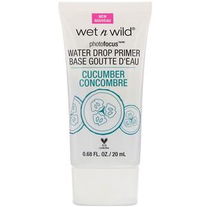 Wet n Wild, PhotoFocus, Water Drop Primer, Cucumber, 0.68 fl oz (20 ml) отзывы покупателей