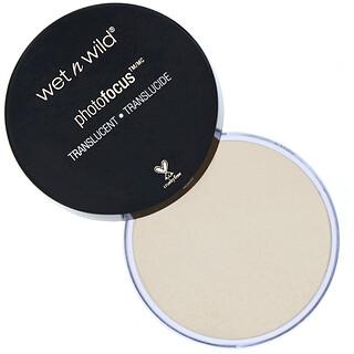 Wet n Wild, PhotoFocus Loose Setting Powder, Translucent,  0.70 oz (20 g)