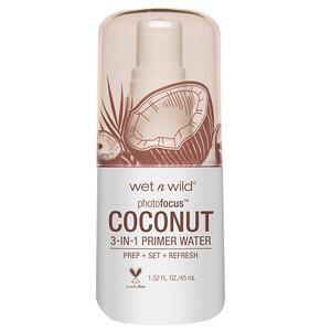 Wet n Wild, PhotoFocus 3-in-1 Primer Water, In Love With Coco, 1.52 fl oz (45 ml) отзывы покупателей