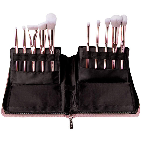 Pro Line Brush Set, 10 Piece Brush Collection + Limited Edition Brush Case