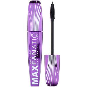 Wet n Wild, Max Fanatic Mascara, Black Cat, 0.27 fl oz (8 ml) отзывы