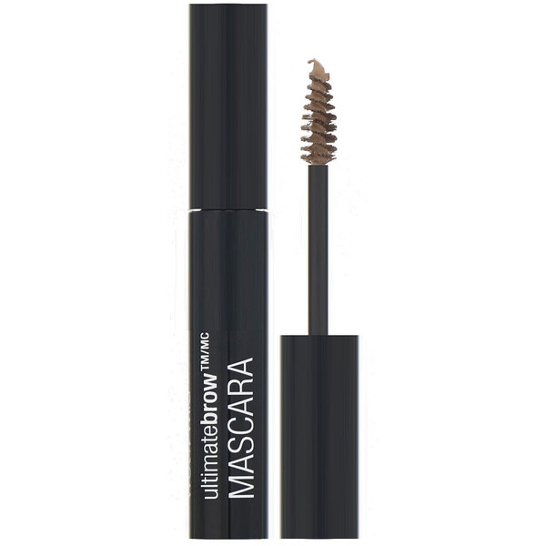 Wet n Wild, Ultimate Brow Mascara, Nothing But Bru-Nette, 0.23 fl oz (7 ml) (Discontinued Item)