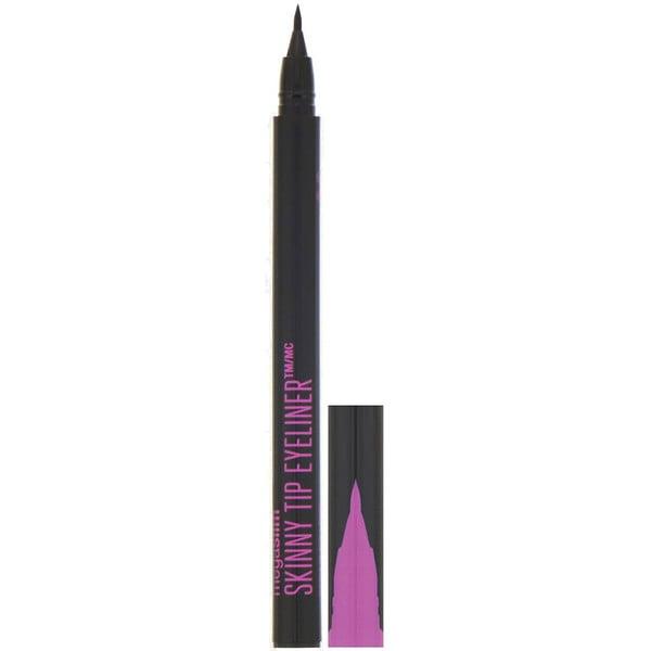 Wet n Wild, MegaSlim Skinny Tip Eyeliner, Black, 0.02 fl oz (0.6 ml)