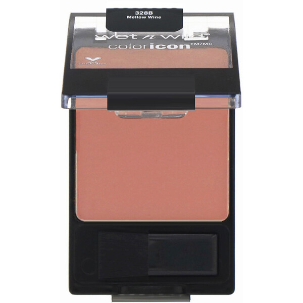 Wet n Wild, Color Icon チーク、メローワイン、5.85 g(0.2オンス) (Discontinued Item)
