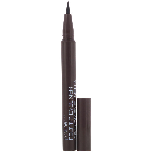 ProLine Felt Tip Eyeliner, Dark Brown, 0.017 oz (0.5 g)