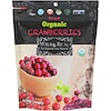 Nature's Wild Organic, Wild & Real, Dried, Organic Cranberries, 3.5 oz (100 g)