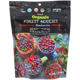 Nature's Wild Organic, ワイルド&リアル、ドライ、オーガニックフォレストベリー、100g(3.5 oz)
