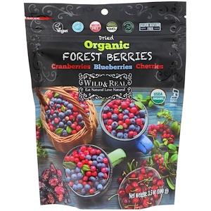 Nature's Wild Organic, Wild & Real, Dried, Organic Forest Berries, 3.5 oz (100 g) отзывы