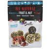 Nature's Wild Organic, All Natural, Snacking Fruit & Nut Bites, Fit Balls, Dates + Hazelnuts + Cacao, 5.1 oz (144 g)