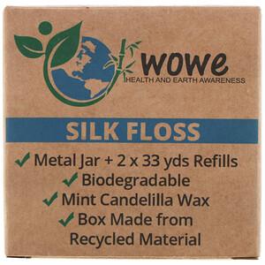 Wowe, Silk Floss, Metal Jar + 2 Refills отзывы покупателей