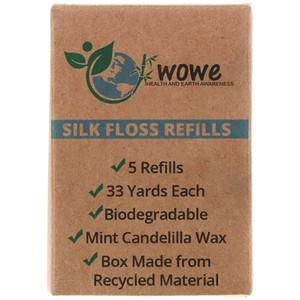 Wowe, Silk Floss Refills, 5 Refills отзывы