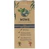 Wowe, Cepillos de dientes de bambú natural, Niños, Cerdas suaves, Paquete de 4