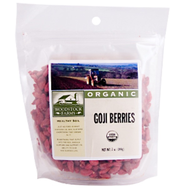 Woodstock, Organic Goji Berries, 7 oz (199 g) (Discontinued Item)