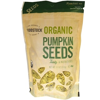 Woodstock, Organic Pumpkin Seeds, 11 oz (312 g)
