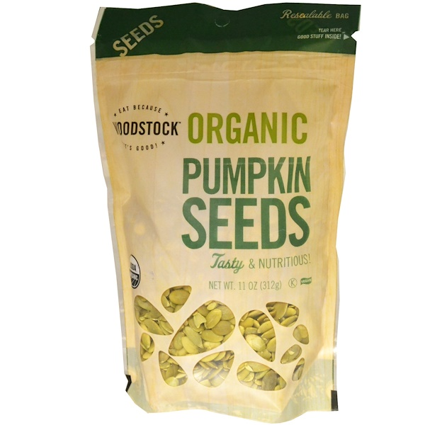 Woodstock, Organic Pumpkin Seeds, 11 oz (312 g)
