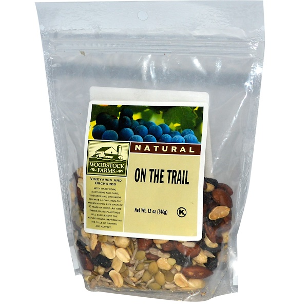 Woodstock, Natural, On The Trail, 12 oz (340 g) (Discontinued Item)