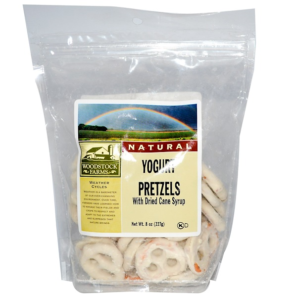 Woodstock, Yogurt Pretzels, 8 oz (227 g) (Discontinued Item)