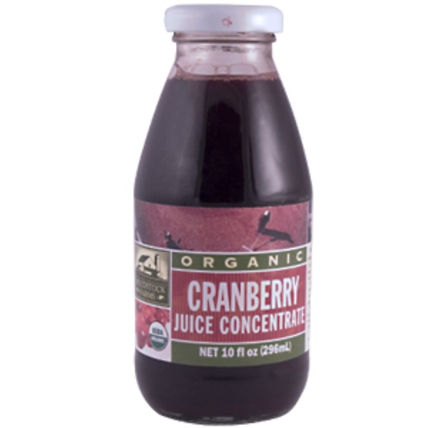Woodstock, Organic Cranberry Juice Concentrate, 10 fl oz (296 ml) (Discontinued Item)
