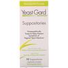 YeastGard Advanced, Yeast Gard Advanced Suppositories, 10 Suppositories