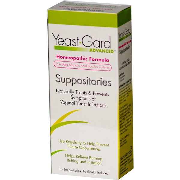 Women, Lake Consumer Products, Yeast Gard Advanced, 10 Suppositories