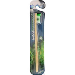 Woobamboo, Medium Adult Toothbrush, 1 Toothbrush