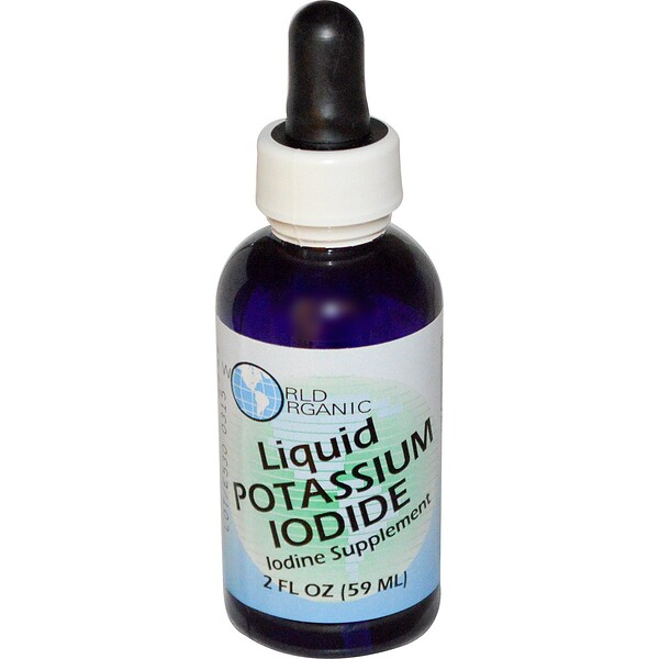 World Organic, Yoduro de Potasio Líquido, 2 fl oz (59 ml)