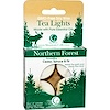 Way Out Wax, Tea Lights, Northern Forest, 4 Candles, 0.6 oz (16 g) Each (Discontinued Item)