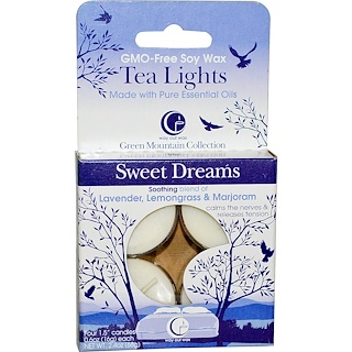Way Out Wax, Tea Lights, Sweet Dreams, 4 Candles, 0.6 oz (16 g) Each