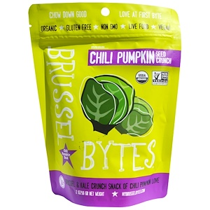 Седжойа фудс, Brussel Bytes, Chili Pumpkin Seed Crunch, 2 oz (56 g) отзывы