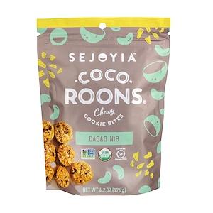 Седжойа фудс, Coco-Roons, Chewy Cookie Bites, Cacao Nib, 6.2 oz (176 g) отзывы
