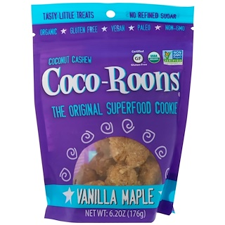 Sejoyia Foods, Coco-Roons, Vanilla Maple, 6.2 oz (176 g)