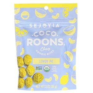 Седжойа фудс, Coco-Roons, Chewy Cookie Bites, Lemon Pie, 3 oz (85 g) отзывы