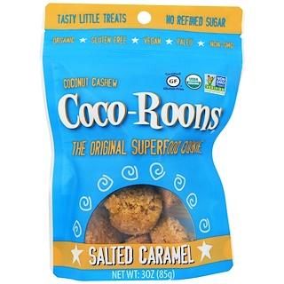 Sejoyia Foods, Organic Coconut Cashew Coco-Roons, Salted Caramel, 3 oz (85 g)